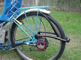 homemade bike trailer hitch off 73