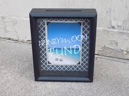 How To Decorate Shadow Boxes Honeymoon Fund Wedding Decoration Dollar Dance Money Box Shadow 37