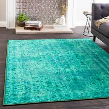 home interior emerald green area rug rx walking on jewels overdyed rugs in ruby