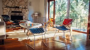 midcentury modern inspired living room