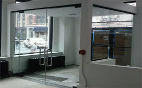 office glass windows. Clear Glass Entrance Office Doors Windows
