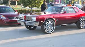 Cars On Big Rims Sliding Thru Gucci Mane Car Show Youtube