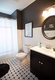 black and white bathroom ideas photos. view in gallery make black and white combo work small bathrooms with right balance bathroom ideas photos r
