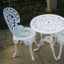aci 2 seater set rose table and chairs