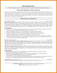 Convenience Store Manager Resume Business Project Manager Sample