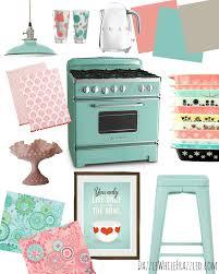 Retro Kitchen Small Appliances Retro Turquoise Kitchen Phidesignus