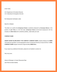 employment letter examples working confirmation letter proof of employment letter sample