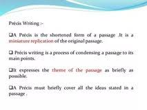 precis essay writing movie reviews thesis helper examples on precis writing for sbi and ibps bank po exams getting information in such a primitive way weakens young minds makes them unable to stand