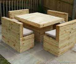 furniture made of wood. pallets made outdoor furniture the next model is a pallet repurposed sofa which two seated this entirely of wood and nothing else as