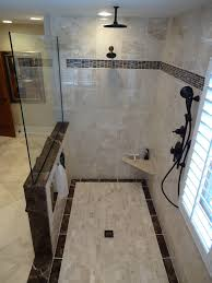 multiple shower heads. multiple shower head system spaces with built in bench built. image by: pm renovations heads e
