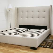Ideas Upholstered Bed Frame King