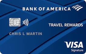 bank of america travel rewards card reviews