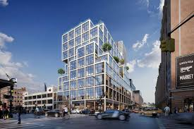 aetna s planned new headquarters at 61 ninth ave in new york city rendering