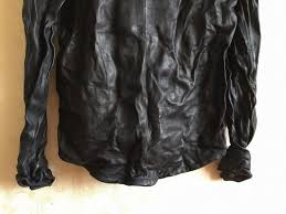 new men motorcycle leather shirt jacket black plus size xl genuine sheepskin men thin coat factory direct