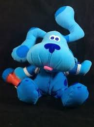 blues clues green puppy plush. 2000 Fisher Price~Blue\u0027s Clues~Bedtime-Flashlight~Plush Puppy Dog~Sleeping Bag Blues Clues Green Plush E