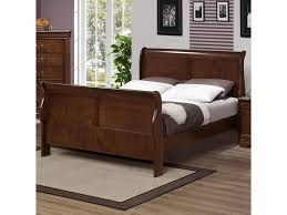 Austin Group Marseille Queen Sleigh Bed with Curved Posts | Great ...