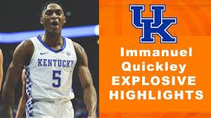 Immanuel Quickley - Kentucky Highlights ...