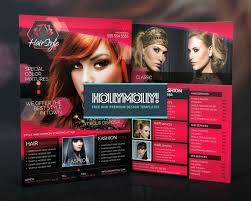 Hair Salon Flyer Templates Hair Salon Flyer Template Download Flyers Templates Black Getreach Co