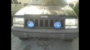 Installing Fog Lights Jeep Grand Cherokee Zj