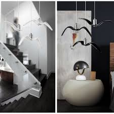 seagull pendant lighting. w nordic led pendant light creative seagull design post modern lighting fixture minimalist fashion bar cafe lamp pendantin lights from