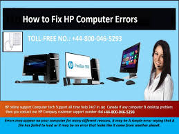 Hp Online Support How To Fix Hp Computer Errors By Hp Technical Support Number