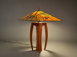 stained glass lamp shades for table lamps walkabout with flower intended shade idea 19