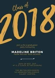 Online Graduation Party Invitations Lovely Customized Graduation Invitations For Free And Creating