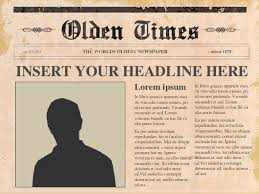Newspaper Template Online Free | Best Business Template
