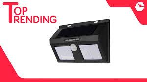 Solar Sensor Light Big W Bentag 6 5w 40led Large Waterproof Motion Sensor Solar Wall Light