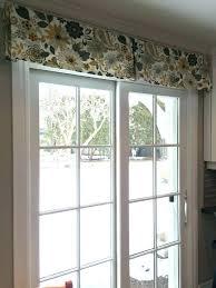 sliding door valance valances for sliding glass doors medium size of enchanting patio door valance wood