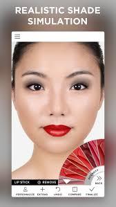 makeup beauty simulator hair try on face photo editor screenshot 4