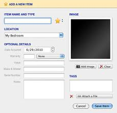 Home Inventory System Free Giveaway Compartments A Home Inventory System For Mac
