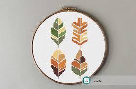 Cross Stitch Chart Generator 9 Fall Leaf Inspired Cross Stitch Patterns