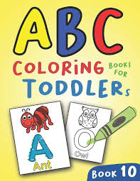 Printable alphabet activity worksheets for toddlers & preschool. Abc Coloring Books For Toddlers Book10 A To Z Coloring Sheets Jumbo Alphabet Coloring Pages For Preschoolers Abc Coloring Sheets For Kids Ages 2 4 And Kindergarten A To Z Coloring Pages