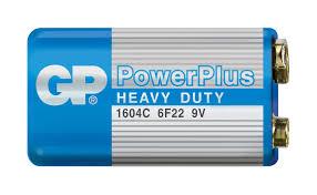 Купить <b>Батарейка</b> GP Power Plus 6F22 <b>крона</b>, 1 шт с доставкой ...