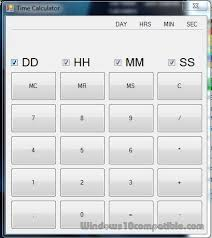 Downloadable Calculators Free Time Calculator 1 0 Free Download