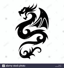 Easy Dragon Designs Dragon Vectors For Tattoo Designs T Shirt Designs Logos