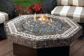 propane fire pit insert kit diy gas inserts
