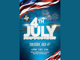 4th July Independence Flyer By Madridnyc On Dribbble