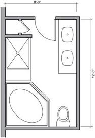 ideas 5 x 7 bathroom layout first cl 17 1000 images about house 8