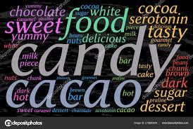 Cloud Saver Candy Word Cloud Grunge Background Elegant Font Bright Screen Saver