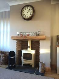 shelf above fireplace solid oak beam floating mantle air dried mantel depth