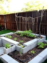 Small Picture raised garden bed with concrete blocks lasts longer than wood