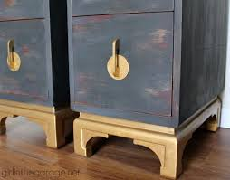 gold painted furnitureNightstand  Beautiful Img Oriental Nightstand Chalk Paint Gold