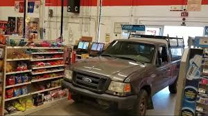 Police: Man intentionally drives pick-up truck through Home Depot doors