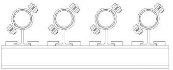 Pipe Spacing Chart Metric Spacing Between Pipes On A Pipe Rack The Piping