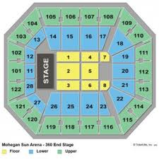 Mohegan Sun Ct Interactive Seating Chart 49 Perspicuous Mohegan Sun Concert Seat View