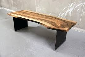 raw edge wood table coffee table finished wood slabs tree slab coffee table live edge end table glass coffee table raw edge wood table top