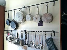 diy hanging pot rack wall hanging pot rack stainless wall mounted pot rack wall mount pot