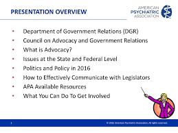 Department Of Government Relations Advocates And The Apa How To
